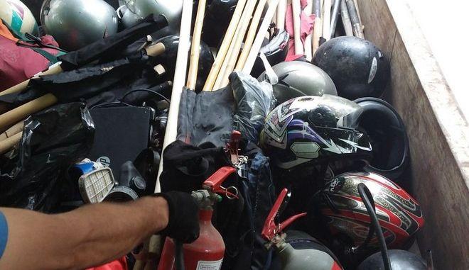 """Θεσσαλονίκη: Τι βρήκαν οι αστυνομικοί στην κατάληψη """"Terra Incognita"""""""