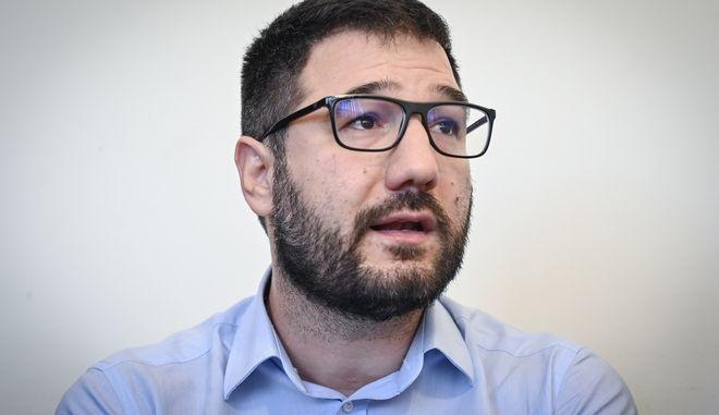 Ο Νάσος Ηλιόπουλος.