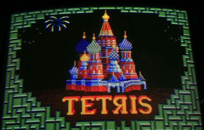 Το λογότυπο του παιχνιδιού Tetris