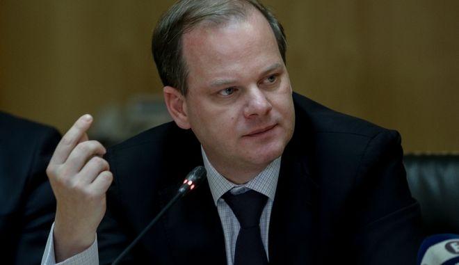 Υπουργός Υποδομών και Μεταφορών Κώστας Καραμανλής