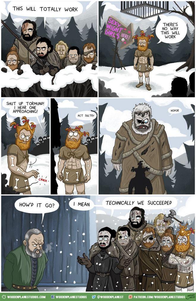Game of Thrones: Η έβδομη σεζόν σε ένα κόμικ σκέτη απόλαυση