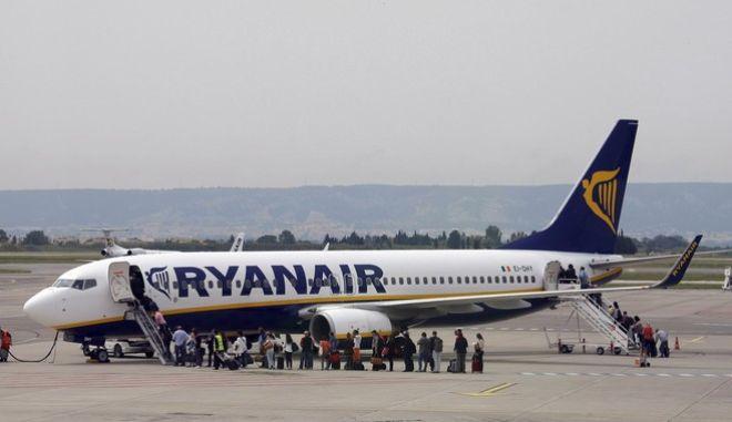 Φωτό αρχείου: Πτήση της Ryanair