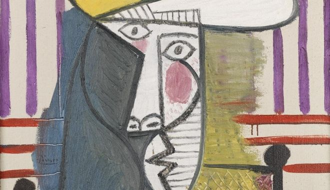 "O πίνακας του Πικάσο ""Μπούστο γυναίκας"""