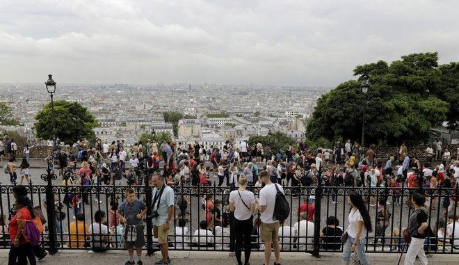Η περιοχή της Μονμάρτρης στο Παρίσι