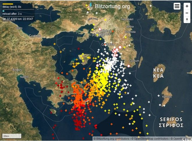 Σαρώνει την Ελλάδα η κακοκαιρία: Καταιγίδες και στην Αττική - Πως θα εξελιχθούν τα έντονα καιρικά φαινόμενα