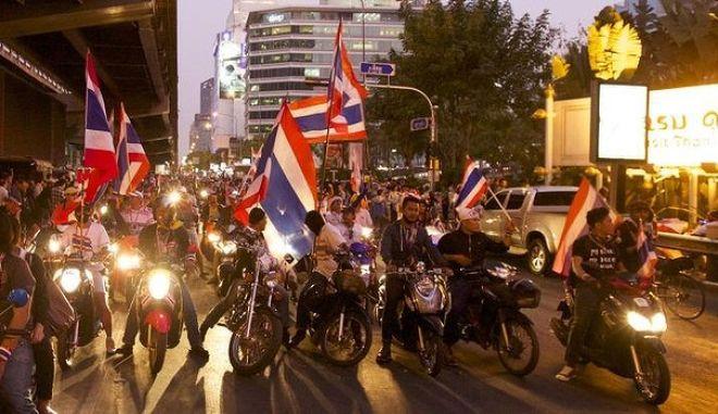 Ταϊλάνδη: Έκρηξη σε πορεία αντικυβερνητικών διαδηλωτών