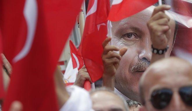 Παλαιότερη προεκλογική συγκέντρωση υπέρ του Ερντογάν στην Αυστρία