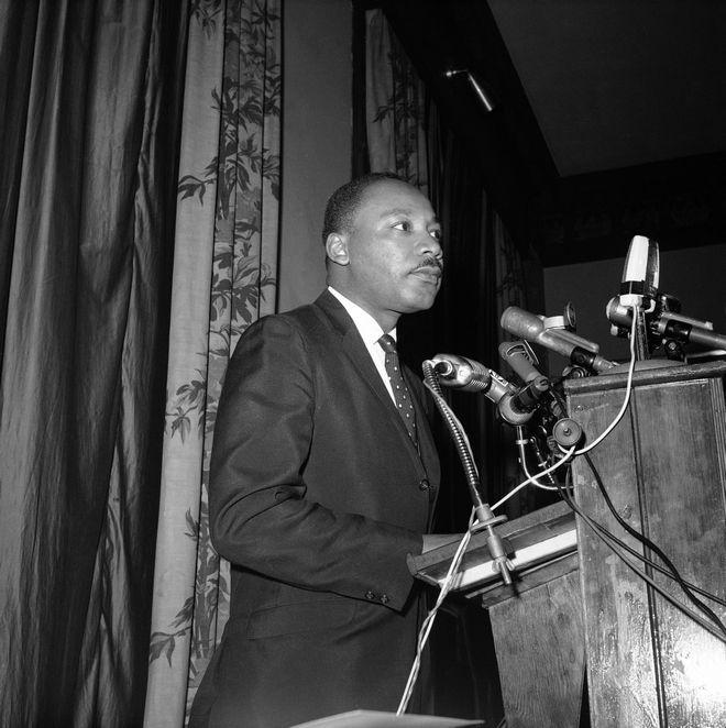 O Μ.Λ. Κινγκ στις 4 Απριλίου 1967
