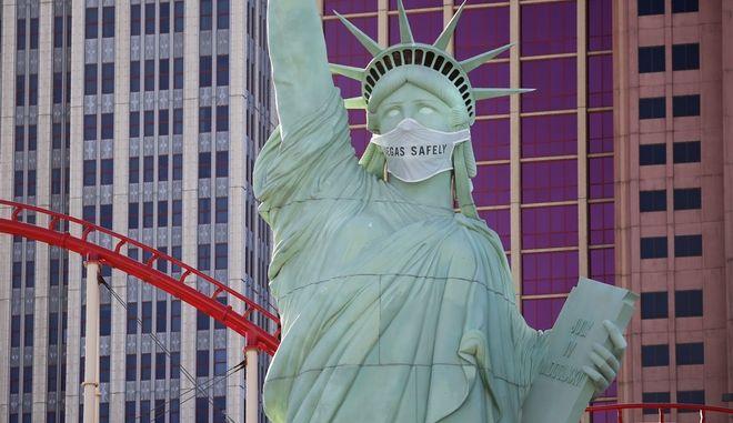 Ρέπλικα του Αγάλματος της Ελευθερίας στο Λας Βέγκας