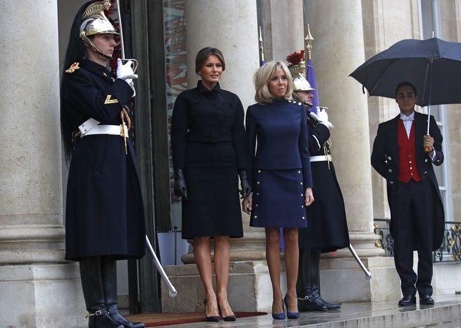 Brigitte Macron και Melania Trump