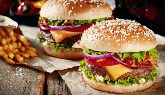 Δύο cheesburger