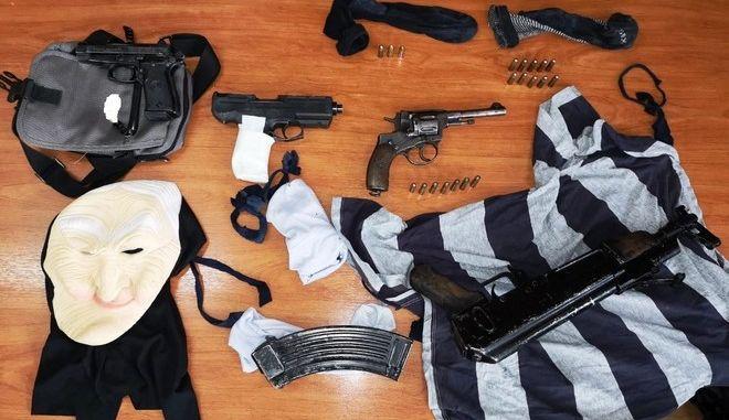Εξαρθρώθηκε σπείρα επικίνδυνων κακοποιών με πλήθος ένοπλων ληστειών στα Μεσόγεια