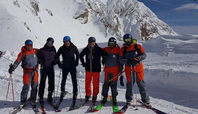 Για σκι στο Βελούχι ο Κυριάκος Μητσοτάκης