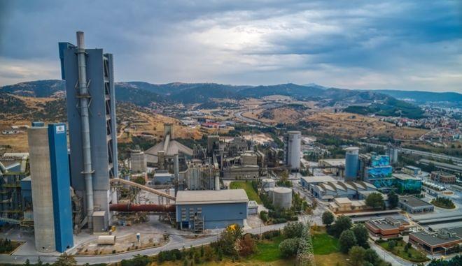 Το εργοστάσιο του ομίλου στη Θεσσαλονίκη.