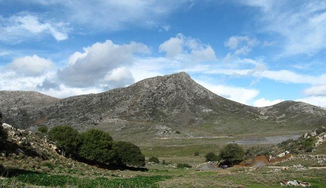 Το οροπέδιο Στρούμπουλας στην Κρήτη