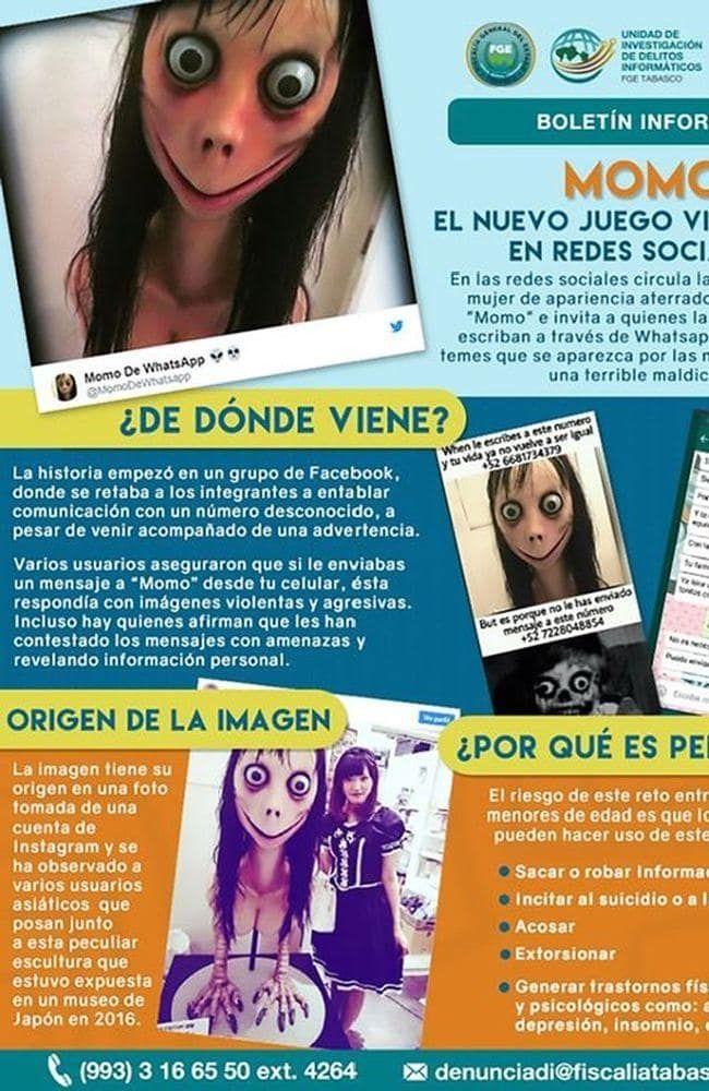 Momo: Νέο παιχνίδι αυτοκτονίας τρομοκρατεί τις Αρχές - Νεκρή 12χρονη