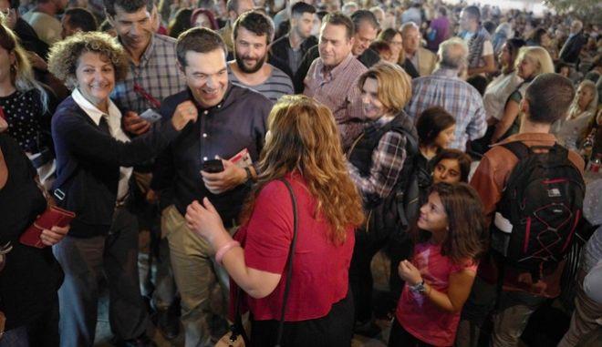 Επίσκεψη του προέδρου του ΣΥΡΙΖΑ, Αλέξη Τσίπρα στο φεστιβάλ ΣΠΟΥΤΝΙΚ 2019 που διοργανώνει η Νεολαία ΣΥΡΙΖΑ, το Σάββατο 28 Σεπτεμβρίου 2019.