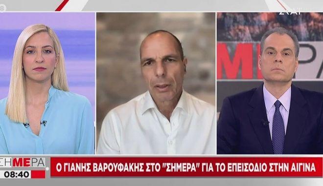 Καβγάς Βαρουφάκη- Στραβελάκη για το περιστατικό στην Αίγινα