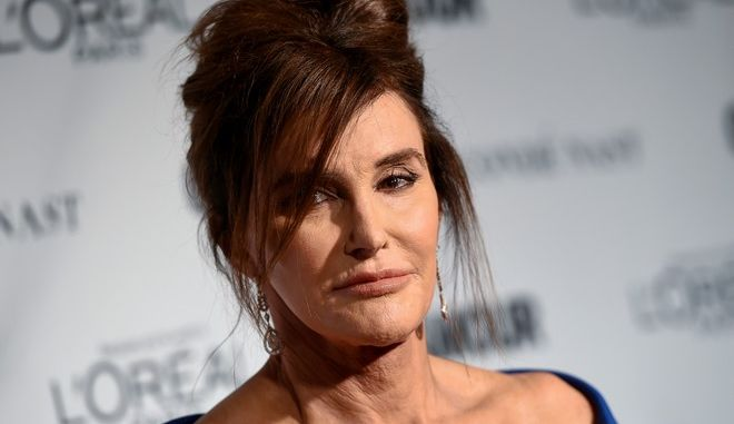 """Glamour's """"The Transgender Champion"""" honoree, Caitlyn Jenner, attends the 25th Annual Glamour Women of the Year Awards at Carnegie Hall on Monday, Nov. 9, 2015, in New York. (Photo by Evan Agostini/Invision/AP)"""