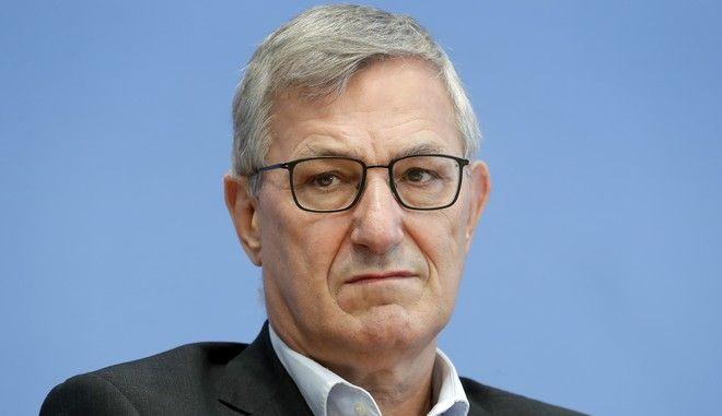 Ο συμπρόεδρος της γερμανικής αριστεράς Μπερντ Ρίξινγκερ