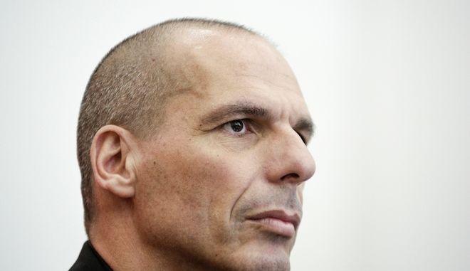 Press conference of Yannis Varoufakis and representatives of the Thessaloniki DiEM25 team at Vellidio Conference Center, in Thessaloniki, Greece on April 28, 2017. /            DiEM25     , , 28  2017.
