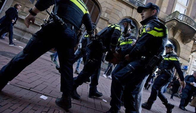 Άνδρες της ολλανδικής αστυνομίας