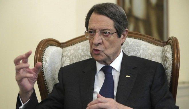 Ο Κύπριος πρόεδρος Νίκος Αναστασιάδης