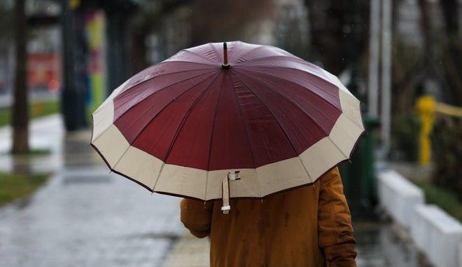 Βροχή στην Αττική