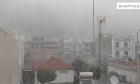 Χιονόπτωση στο κέντρο της Ξάνθης