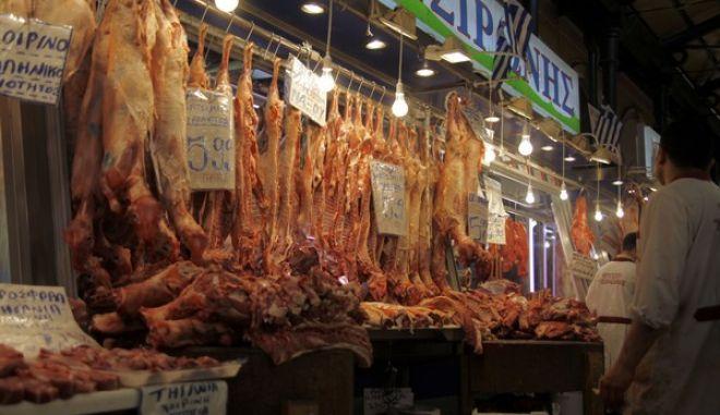 Στιγμιότυπο από την Βαρβάκειο Αγορά την Παρασκευή 26 Απριλίου 2013.  (EUROKINISSI/ΓΙΩΡΓΟΣ ΚΟΝΤΑΡΙΝΗΣ)