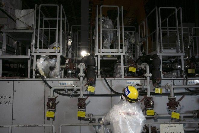 Επεξεργασία του νερού της Φουκουσίμα