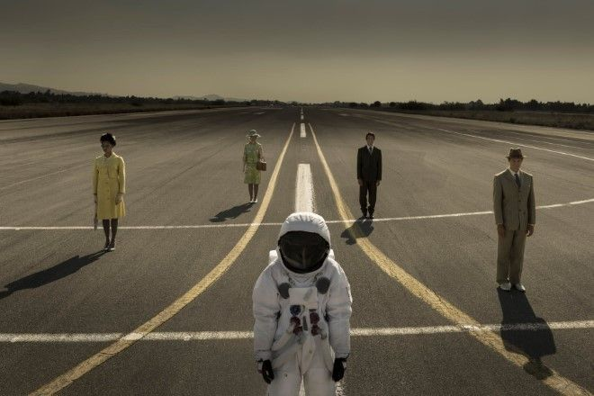 JOHN AKOMFRAH Spaceman  and Quartett on Runway