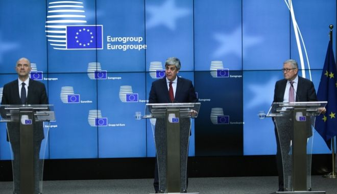 Eurogroup finance ministers meeting at the European Council in Brussels, Belgium on May 24, 2018 /          24 , 2018