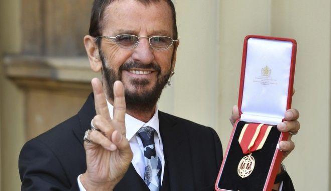 Ringo Starr (John Stillwell/Pool Photo via AP)