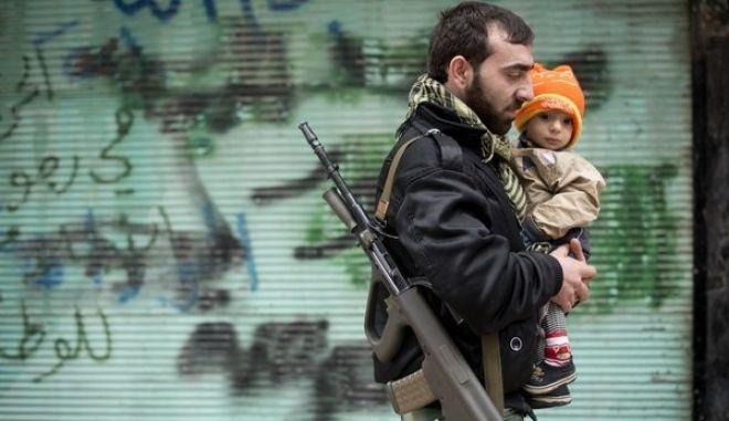 Απορρίπτουν τις ειρηνευτικές διαπραγματεύσεις Σύροι ισλαμιστές αντάρτες