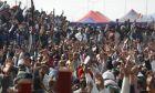 Οι αγρότες διαδηλώνουν στην Ινδία