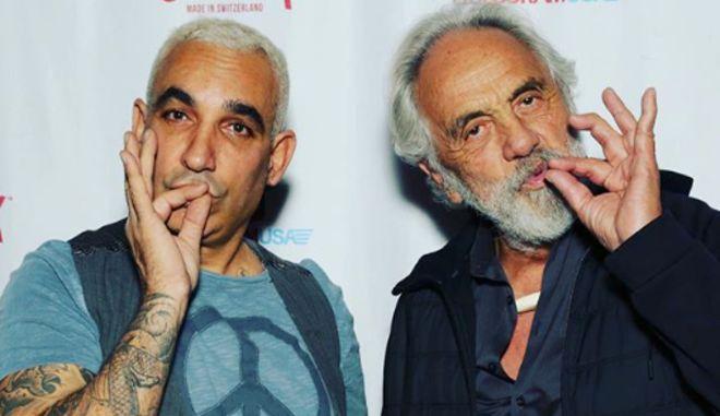 Ο Άλκης Δαυίδ (αριστερά στην φωτογραφία) - instagram