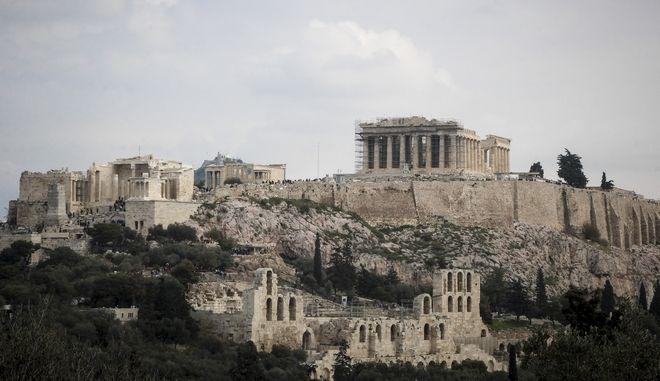 Ο βράχος της Ακρόπολης