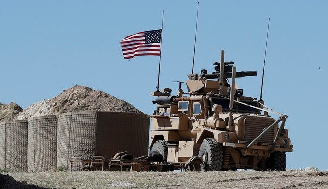 Αμερικανικές στρατιωτικές δυνάμεις στη Συρία