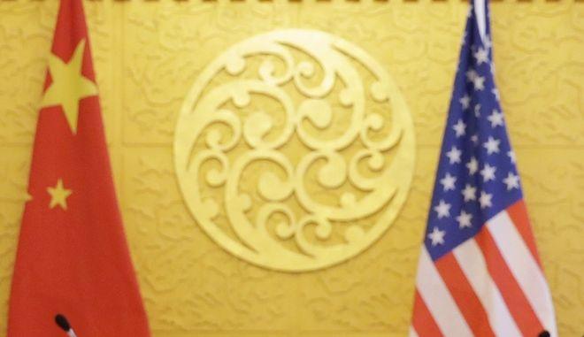 """""""Δέσμευση"""" ΗΠΑ - Κίνας να αποφύγουν τον εμπορικό πόλεμο"""