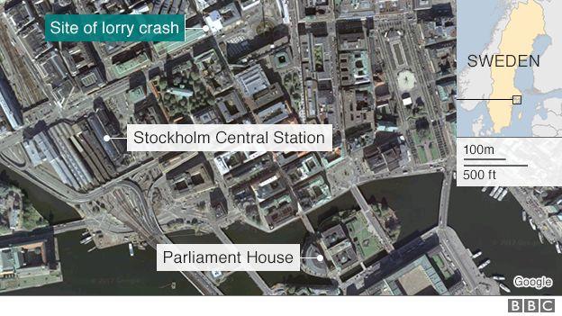 Τρόμος στη Στοκχόλμη: Φορτηγό έπεσε σε πλήθος. Τρεις Νεκροί και οκτώ τραυματίες