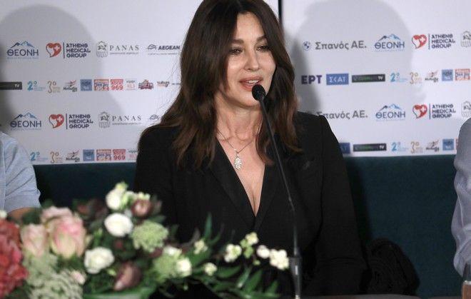 Η Μόνικα Μπελούτσι στην Ελλάδα