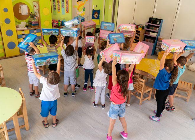Πρόγραμμα εταιρικής κοινωνικής ευθύνης:«Μεγαλώνοντας με PLAYMOBIL»