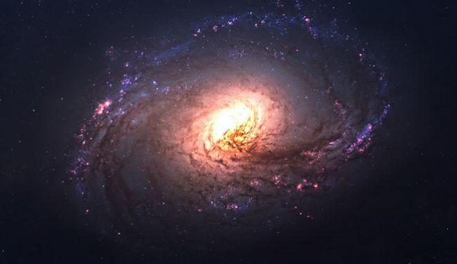 Άστρο στο διάστημα (φωτογραφία αρχείου)