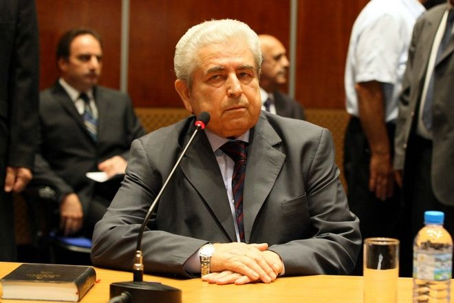 O Πρόεδρος της Δημοκρατίας κ. Δημήτρης Χριστόφιας στη δημόσια ακρόαση ενώπιον της Μονομελούς Ερευνητικής Επιτροπής για τη φονική έκρηξη στο Μαρί.