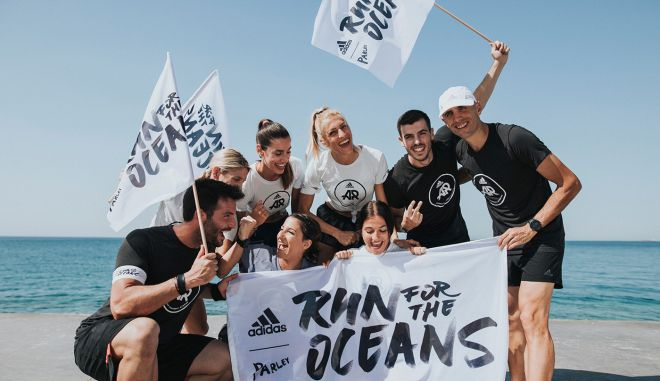 "Adidas x Parley ""RUN FOR THE OCEANS"" 