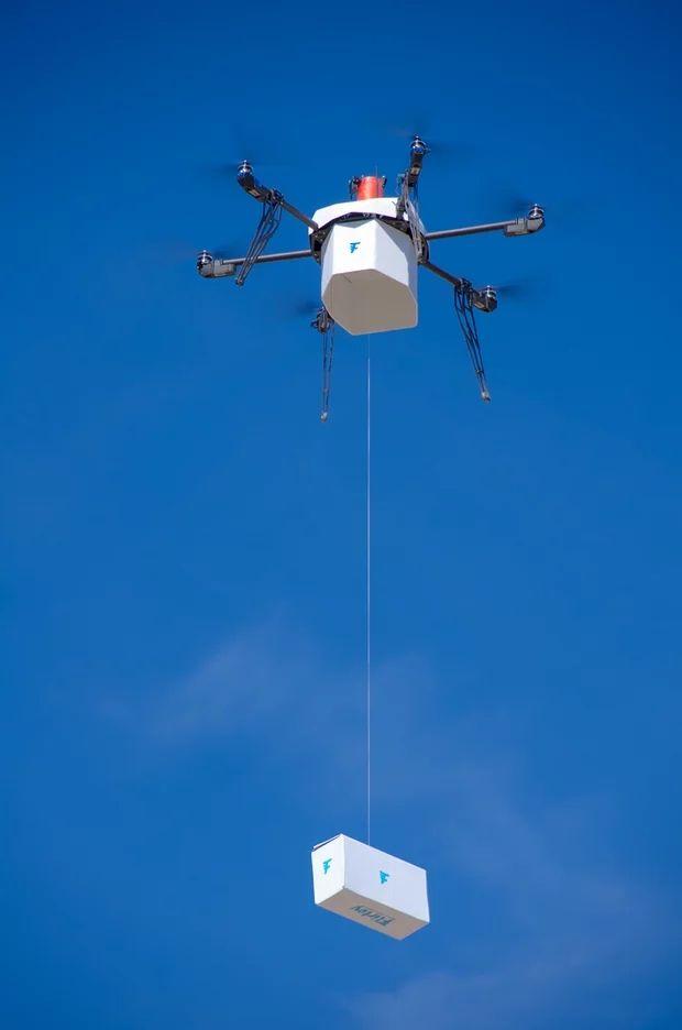 Εικόνες από το άμεσο μέλλον: Έχεις πακέτο από... ιπτάμενο drone