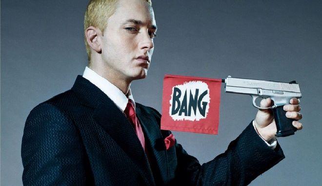 """Ο Eminem είναι 10 χρόνια """"καθαρός"""" και το γιορτάζει"""