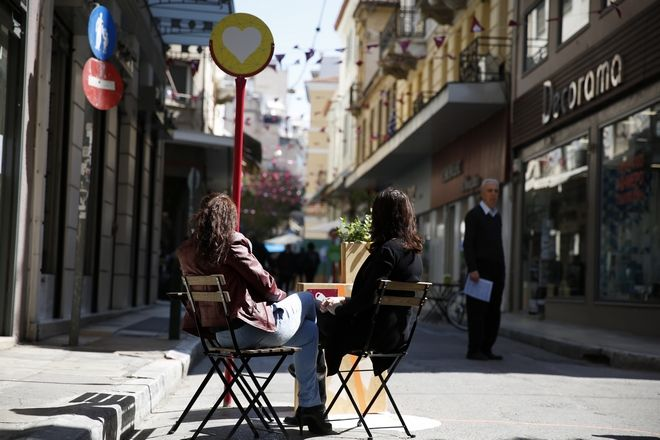 ΑΘΗΝΑ- Πεζόδρομοι από σήμερα οι οδοί Βύσσης και Καΐρη στο κέντρο της Αθήνας με στόχο την αναβάθμιση της περιοχής.Σάββατο 1 Απριλίου 2017.(Eurokinissi-ΣΤΕΛΙΟΣ ΜΙΣΙΝΑΣ)