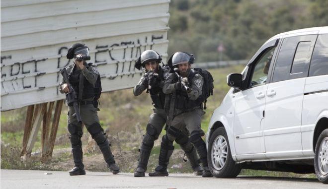 Ισραηλινοί στρατιώτες στη Δυτική Οχθη
